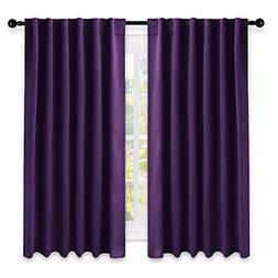 NICETOWN Kitchen Blackout Draperies Curtains for Window -  5