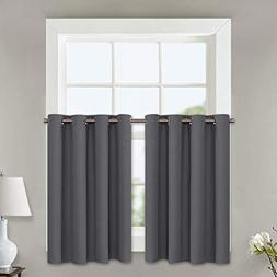 NICETOWN Kitchen Blackout Window Curtains - Thermal Insulate