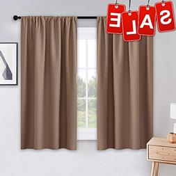 PONY DANCE Kitchen Curtains Short - Thermal Insulated Window