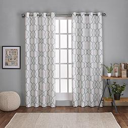 Exclusive Home Curtains Kochi Linen Blend Grommet Top Window