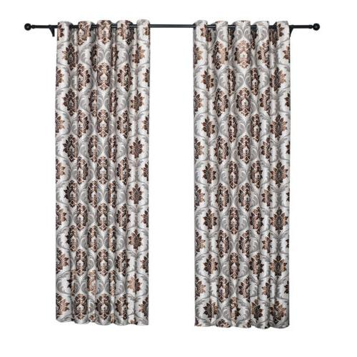 1/2/4 Blackout Window Curtain Room