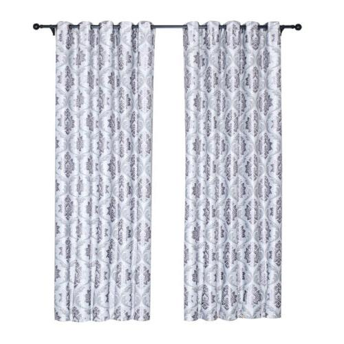 1/2/4 Window Curtains Insulated Drapes Grommet Bedroom