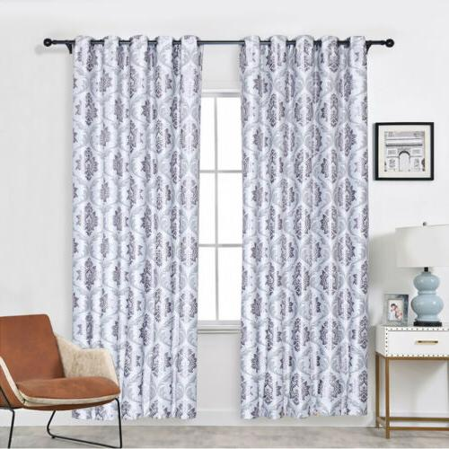 1/2/4 Curtains Insulated Grommet