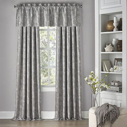 "Eclipse Mallory Blackout Floral Window Curtain 52"" x"