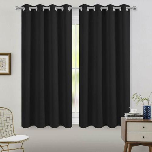 2 Insulated Drapes