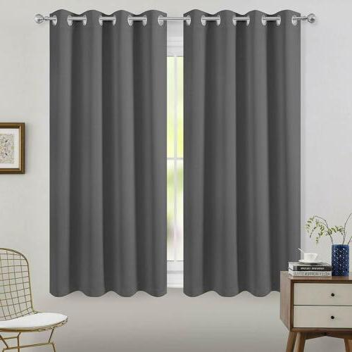 2 Panel Curtain Insulated