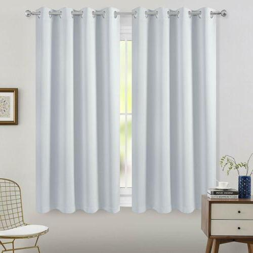 2 Room Curtain Insulated Drapes