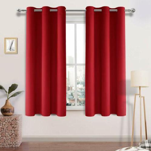 2 Blackout Curtain Window Thermal