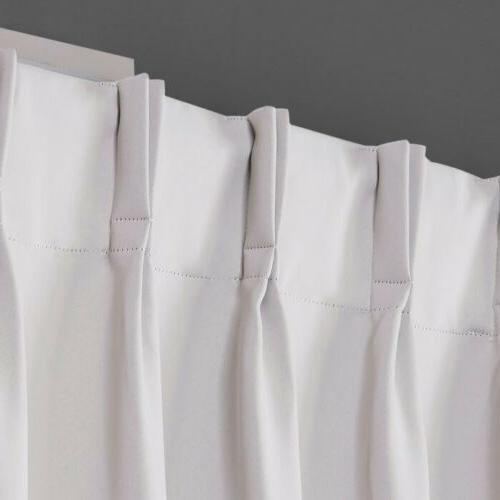 """2pc HOME EXCLUSIVE Pinch Curtains 