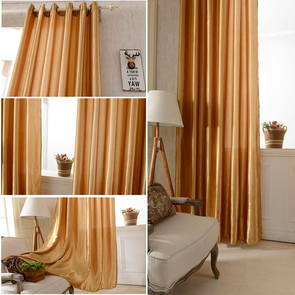 Anself 100*250cm <font><b>Blackout</b></font> <font><b>Curtain</b></font> Solid Window Window Classy Treatments