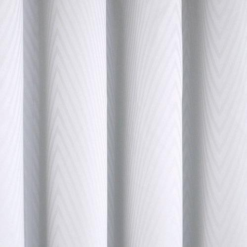 Eclipse 12423052063WHI Cassidy by Blackout Single Curtain White,