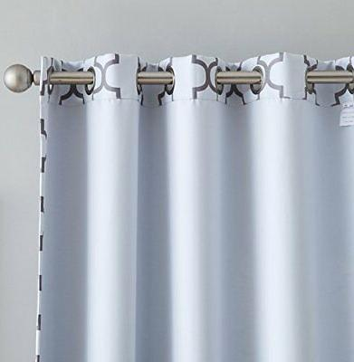 HLC.ME Thermal Insulated Window Curtains for Bedroom -