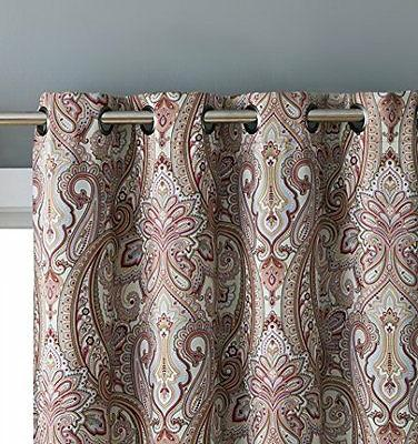 HLC.ME Paris Thermal Blackout Curtain Panels Pair