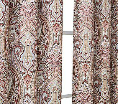 HLC.ME Thermal Grommet Curtain Panels Pair