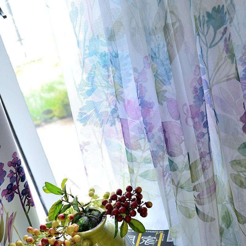 American <font><b>Curtains</b></font> Bedroom Pastoral Style