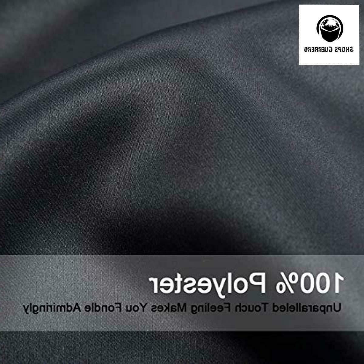 Balichun 99% Blackout 2 Panels Grommets for