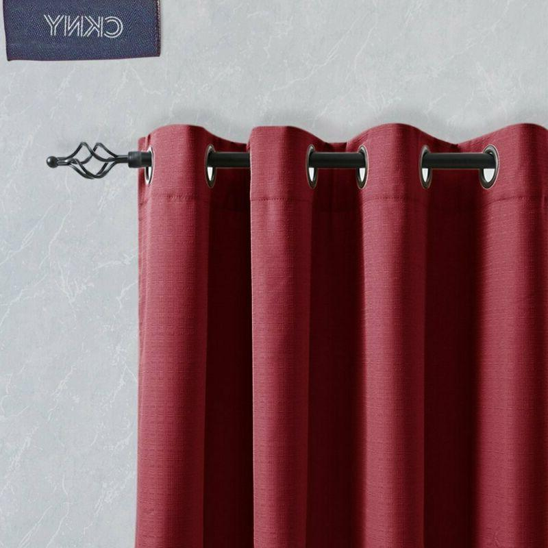 Jinchan Bedroom Thermal Curtains, Energy Drapes For Living