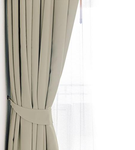 Darkening Window Panel Drapes 1 52 Inches Inches - 8 Grommets/Rings per Panel 1 Back Included