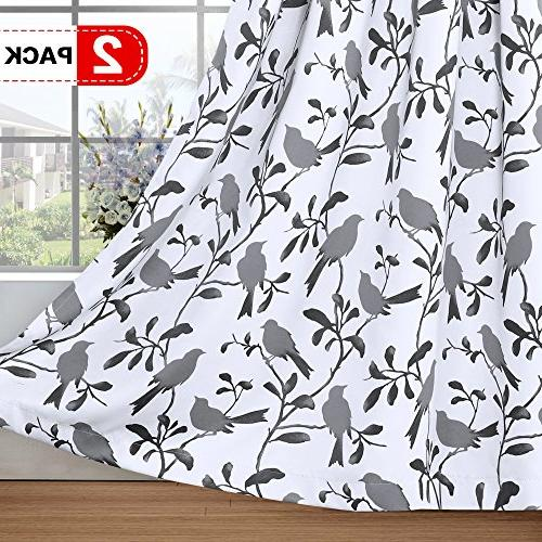 blackout bedroom curtain thermal insulated
