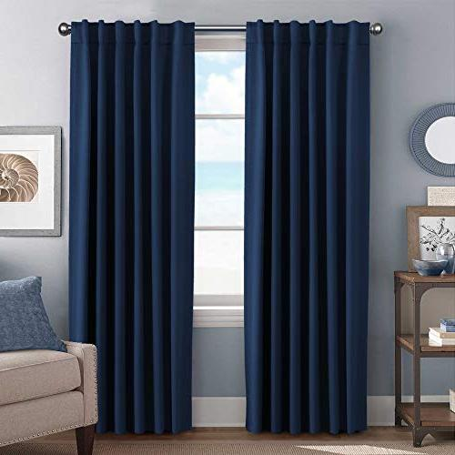 blackout curtain panels solid thermal