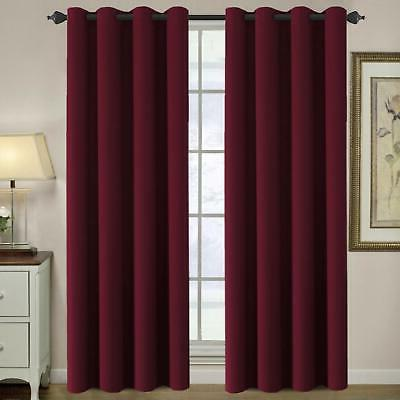blackout curtain thermal insulated room darkening