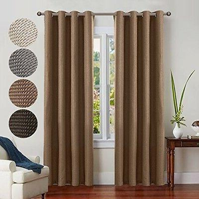 blackout curtain tiers for kitchen home decoration