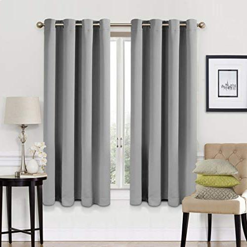 blackout curtains 2 panels set