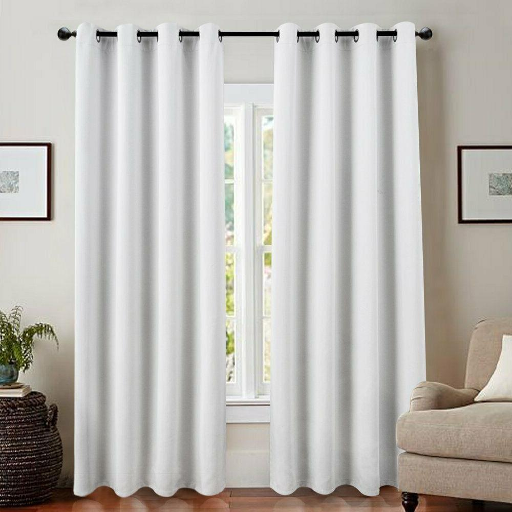 Blackout Window Curtain Insulated Drapes