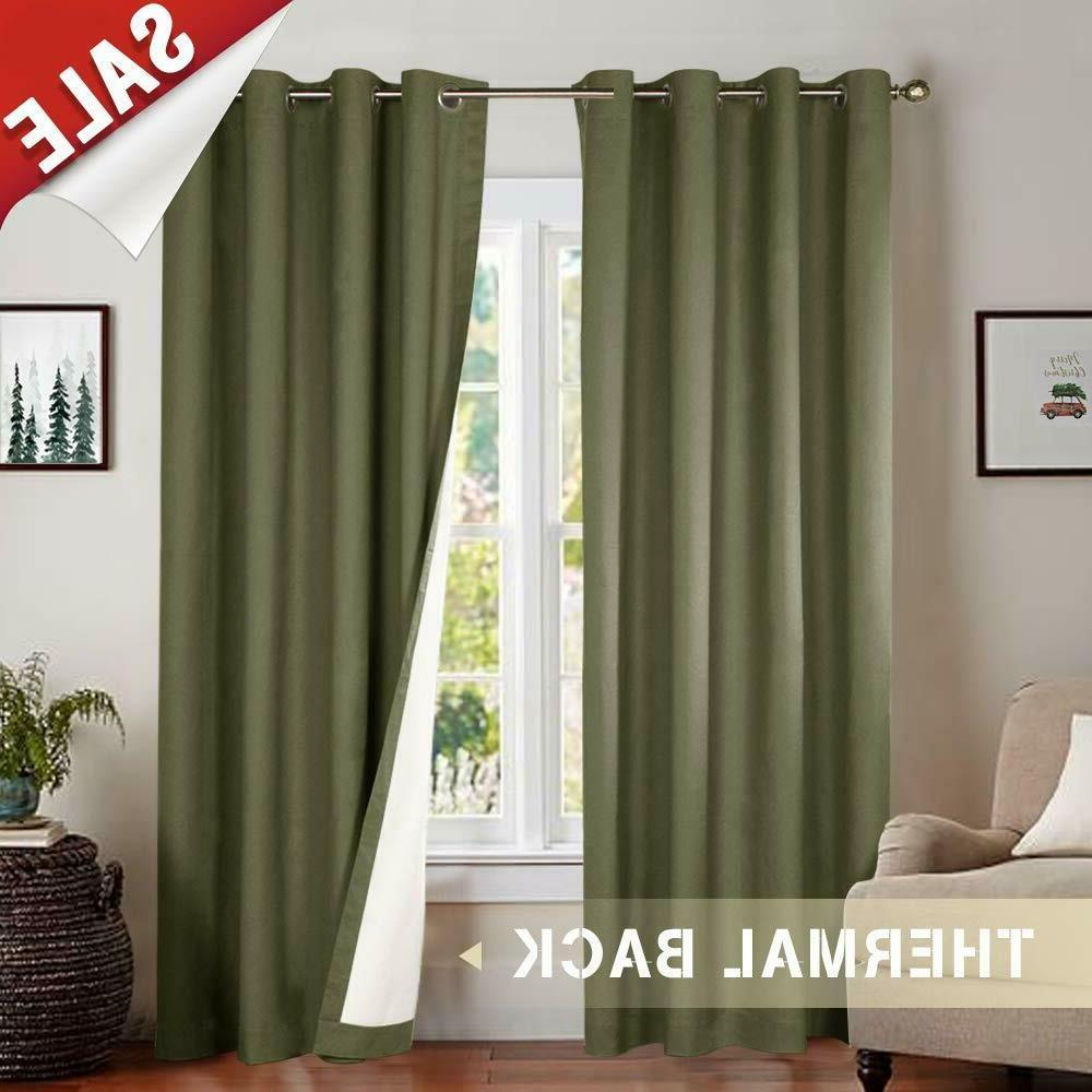 Blackout Curtains Window Thermal Drapes Panel