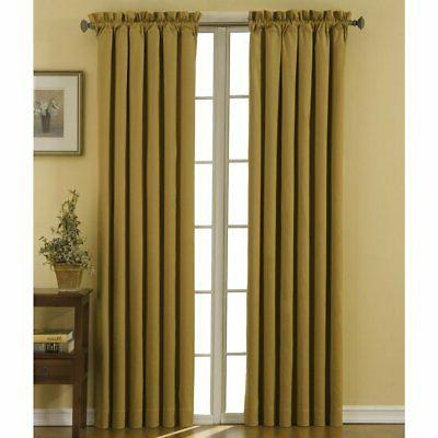 ECLIPSE Blackout Curtains Bedroom -