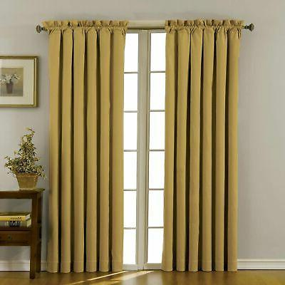 ECLIPSE Curtains for Bedroom - Canova Insulated Darkening Panel