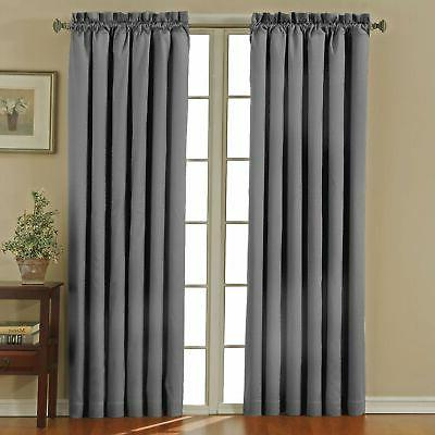 ECLIPSE Blackout Curtains for Bedroom - Canova Darkening Panel