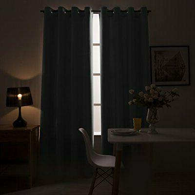 """Blackout Curtains for Living Room 95 inches Bedroom Bl 52"""" Wx 95"""""""