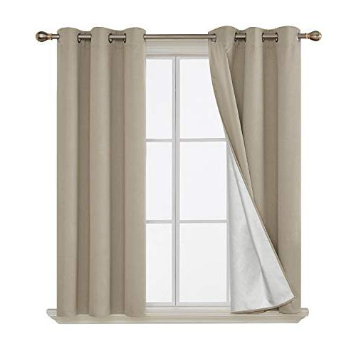 decorative thermal insulated blackout curtains