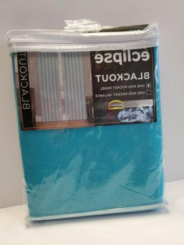 blackout curtains kendall 42 x 54 turquoise