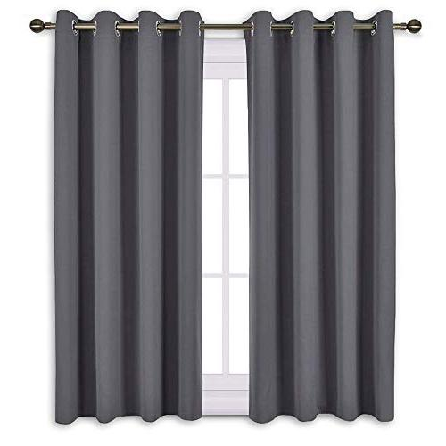 nicetown bedroom blackout curtains panels window treatment t