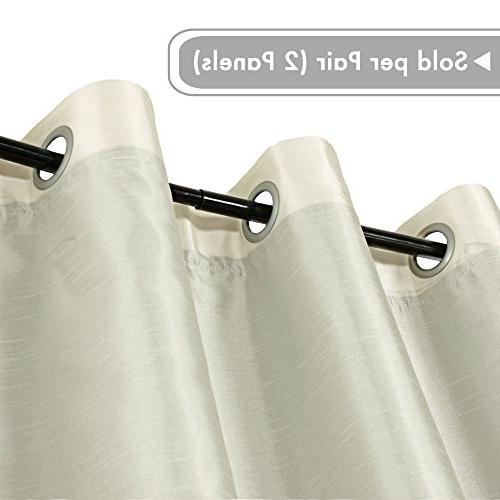 H.VERSAILTEX Blinds Blackout for Large Door Functional Faux Liner, Thermal 52