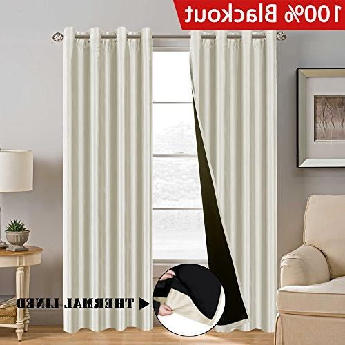 blackout curtains season ivory