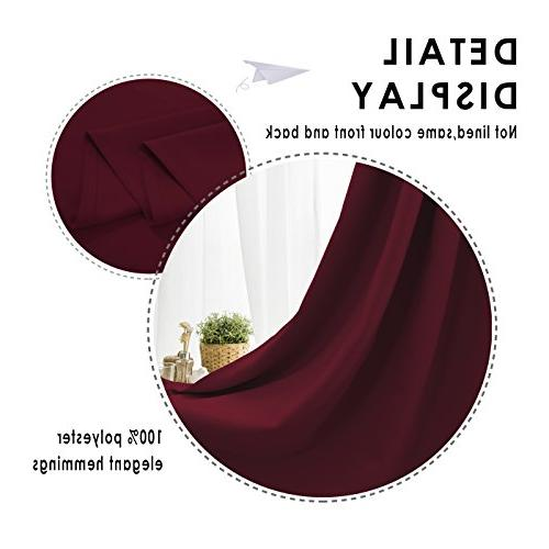 FLOWEROOM Thermal Insulated Draperies for by Panels