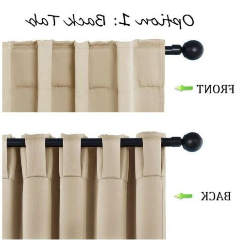 Blackout Thermal Insulated Curtains