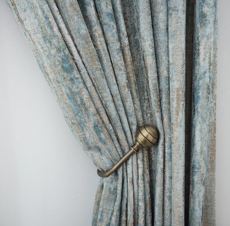 blackout jacquard fabric for font b curtains