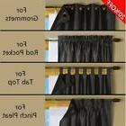 Blackout Liner for Window Curtain Multi-Use for different Wi