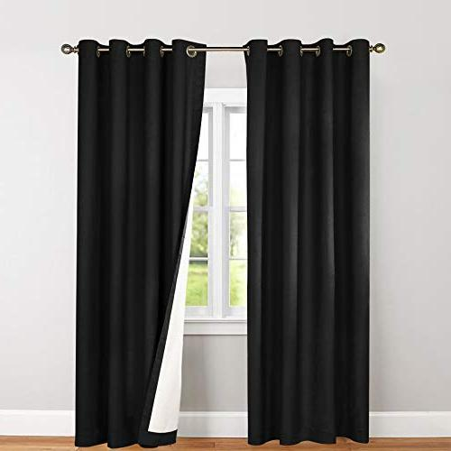 blackout thermal backed curtains