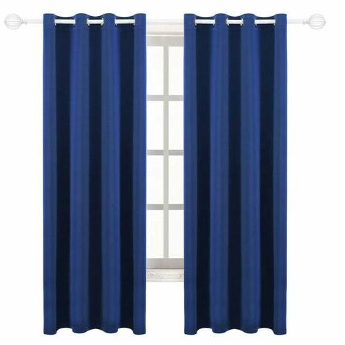 Blackout Window Curtains 2 Grommet
