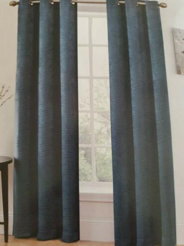 Blackout Window Wide Thermal Insulated Blue Arrow Room Decor