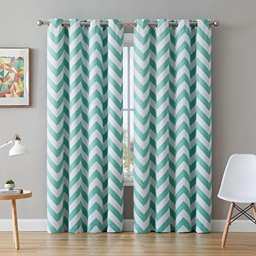 chevron print thermal insulated room