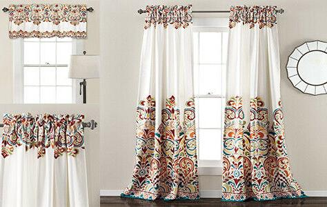 clara curtains paisley damask bohemian style room