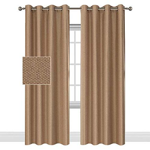 classical thermal insulated faux linen