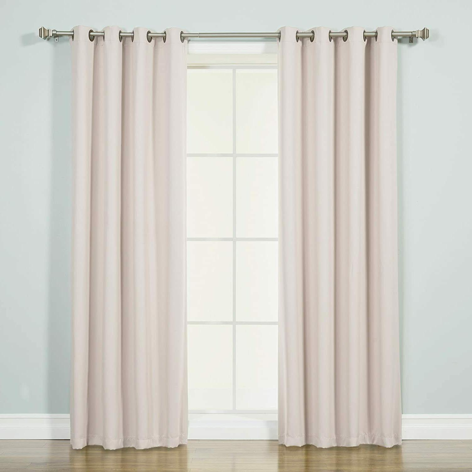 closeout thermal insulated blackout curtains el0905