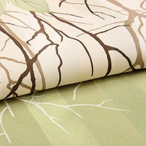 Green Leaf Living Room - Anady Top 2 Panel for inch